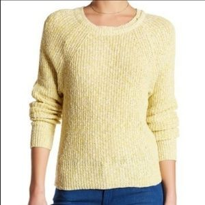 Free People Linen Blend Knit Sweater Size L NWT